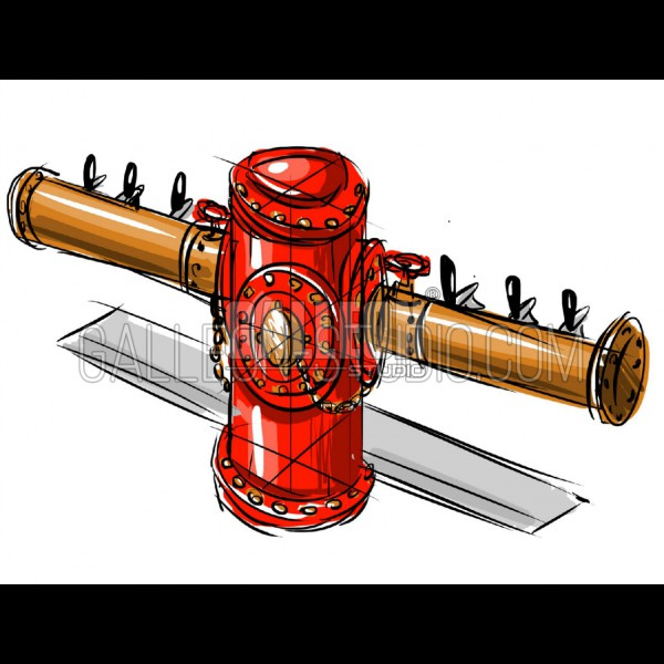 Cooper Fire Pole